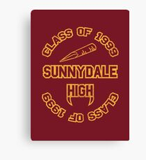 Sunnydale Class of 1999 Canvas Print
