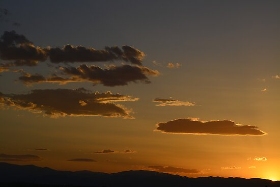 Cloudy sunset 6-14 by Brian Persons