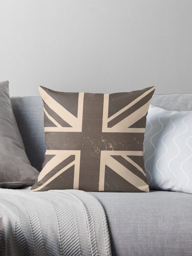 British Flag Vintage by Nhan Ngo
