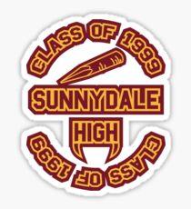 Sunnydale Class of 1999 Sticker