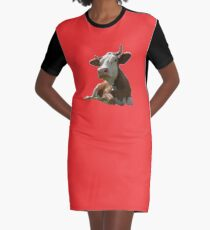 Have Milk Graphic T-Shirt Dress