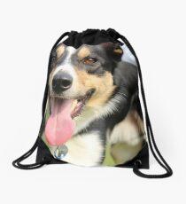 Bordercollie Drawstring Bag