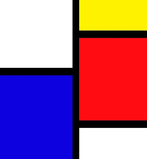 Mondrian by christinaashman