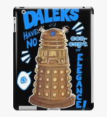 Daleks not elegant iPad Case/Skin