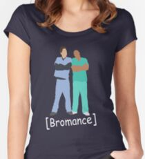 Scrubs- Bromance Women's Fitted Scoop T-Shirt