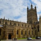 Gloucester Cathedral by Carol Bleasdale