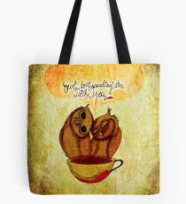 What my #Coffee says to me - June 6, 2014 Pillow Tote Bag