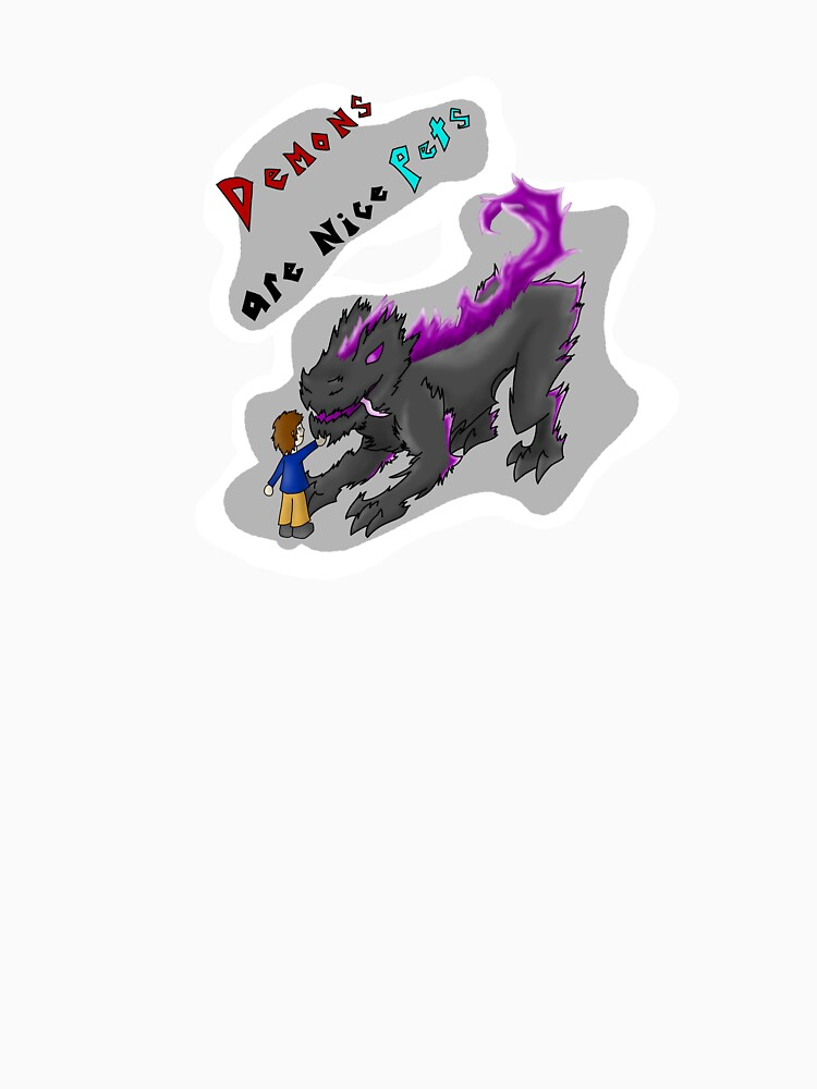 Demons are nice pets by KornyCloon