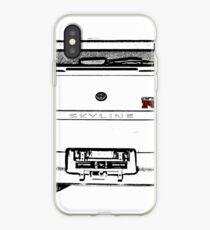 Nissan Skyline R33 GT-R (back) iPhone-Hülle & Cover