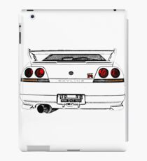 Nissan Skyline R33 GT-R (back) iPad-Hülle & Skin