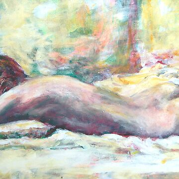 Woman Resting by Dygowski