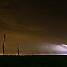 Lightning over Denver by Josh Dayton