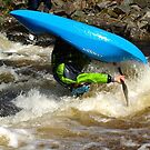 Whitewater playboater front-loop by turniptowers