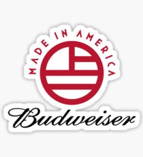 NEW Budweiser Made in America Festival Sticker