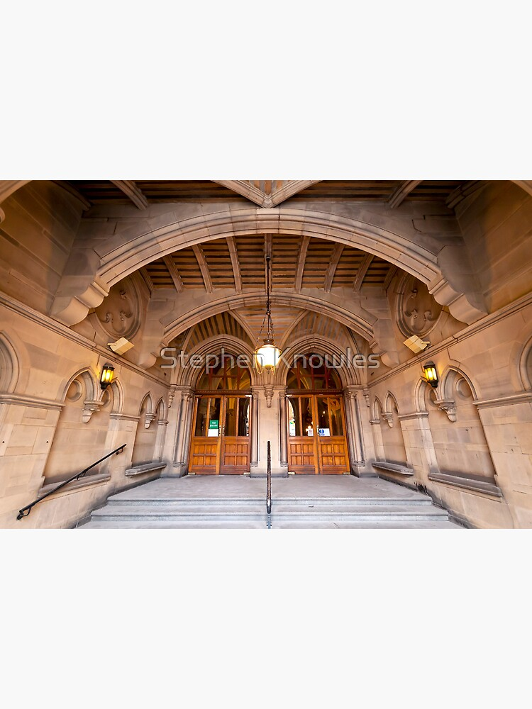 Manchester Town Hall's Entrance by stephenknowles