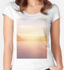 landscape 01 Women's Fitted Scoop T-Shirt