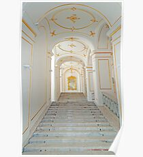 Palace stair. Poster