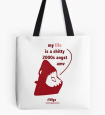 Rin    2000s Angst Amv Tote Bag
