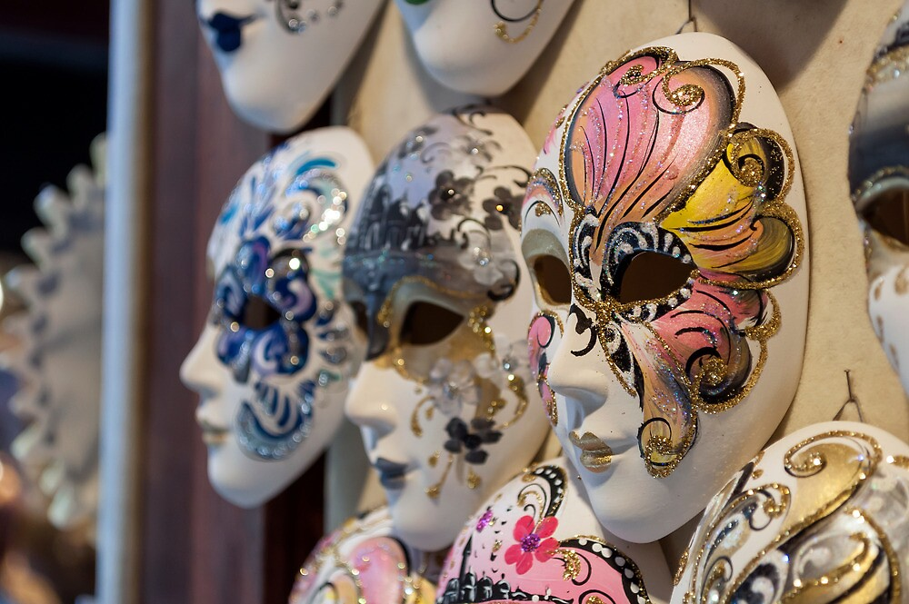 Venetian carnival masks. by FER737NG
