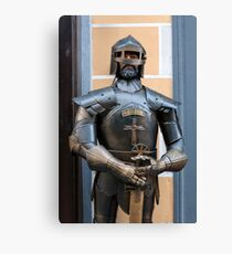 Knight armour. Canvas Print