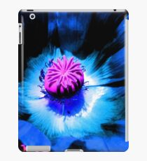 Blue Poppy 1 (F.21) iPad Case/Skin