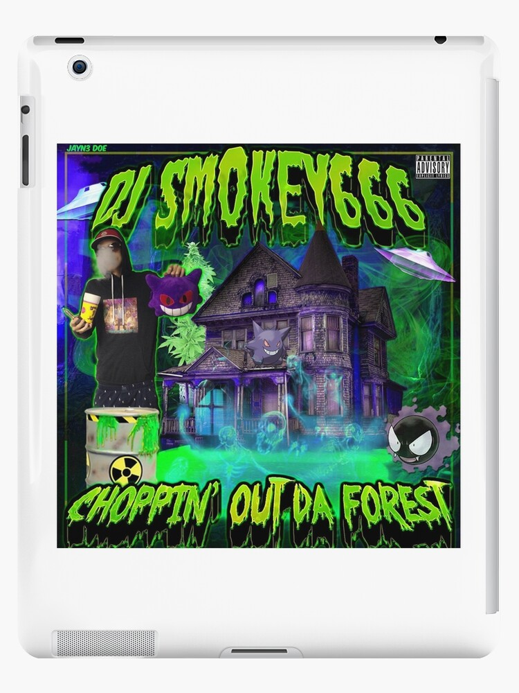 'Dj Smokey - Choppin Out Da Forest Album Art' iPad Case/Skin by  JuicySchinken