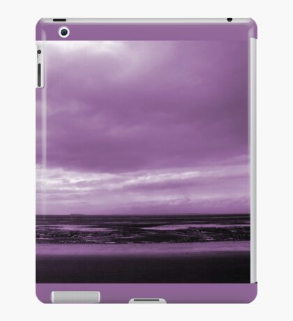 Rain Clouds At Sand Bay iPad Case/Skin