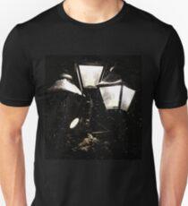 Snowy Night, Street Light Unisex T-Shirt
