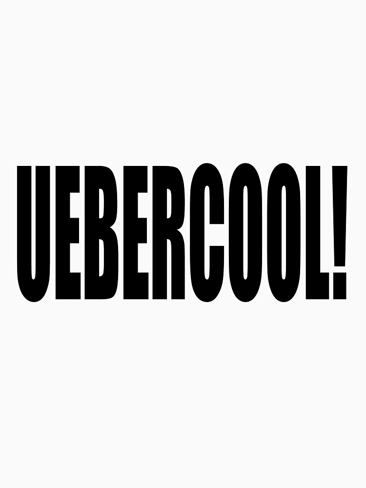 Uebercool T Shirt by swissman
