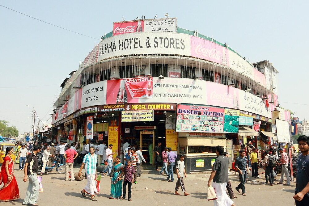 Alpha Hotel Secunderabad India by Andrew  Makowiecki