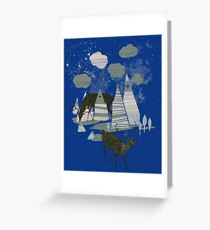 magic mountains Greeting Card