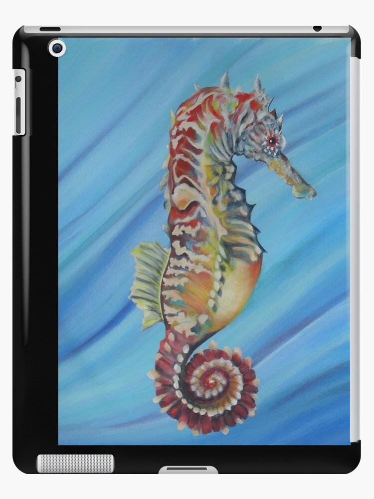 """""""Delicate Seahorse"""" by noleenr"""