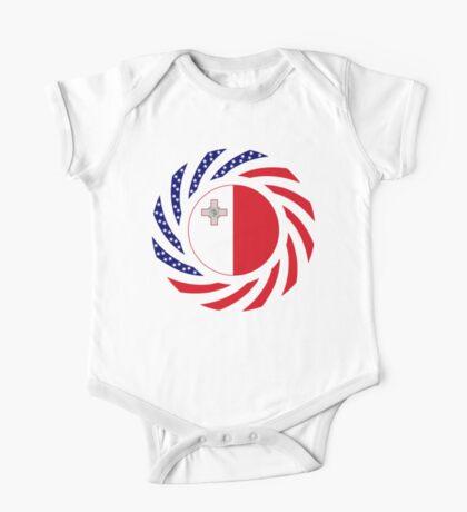 Maltese American Multinational Patriot Flag Series Kids Clothes
