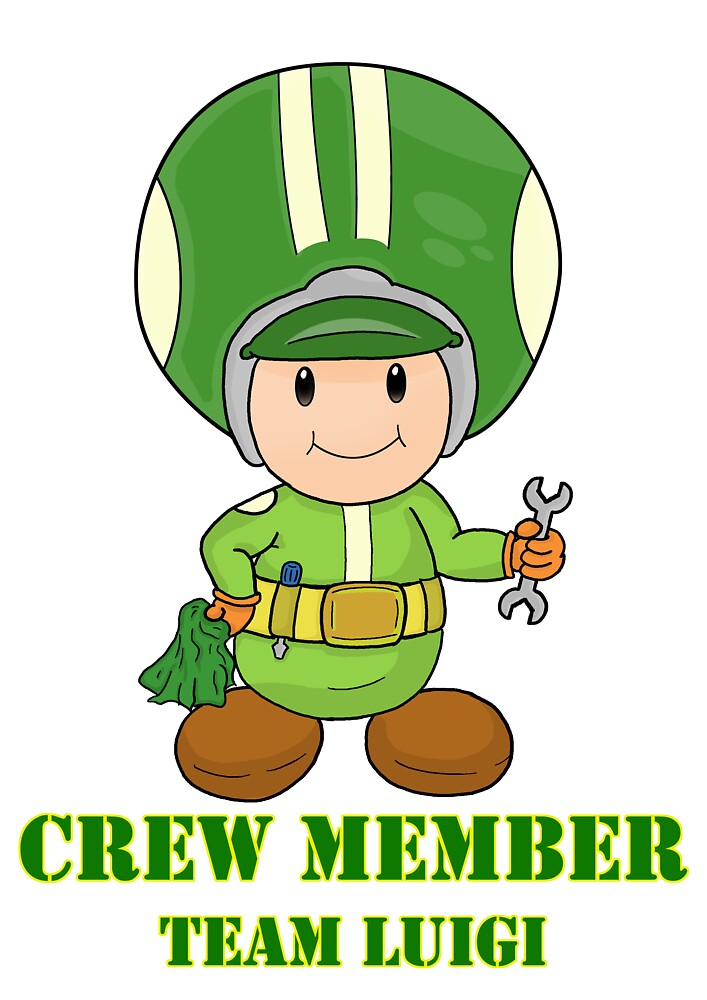 Team Luigi Crewmember by vdBurg