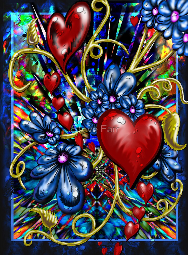 """""""Incense, Hearts & Flowers"""" by Steve Farr"""