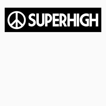SUPERHIGH Box logo T-shirt by SuperHigh