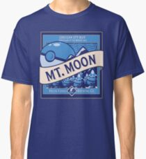 Mt. Moon Pokemon Beer Label Classic T-Shirt