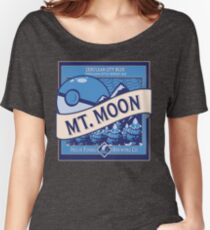 Mt. Moon Pokemon Beer Label Women's Relaxed Fit T-Shirt