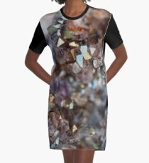 Points Of Light Graphic T-Shirt Dress