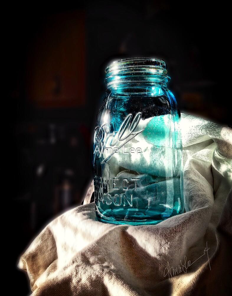 Ball Jar Still Life by Alma Lee