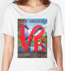 Love New Orleans  Women's Relaxed Fit T-Shirt