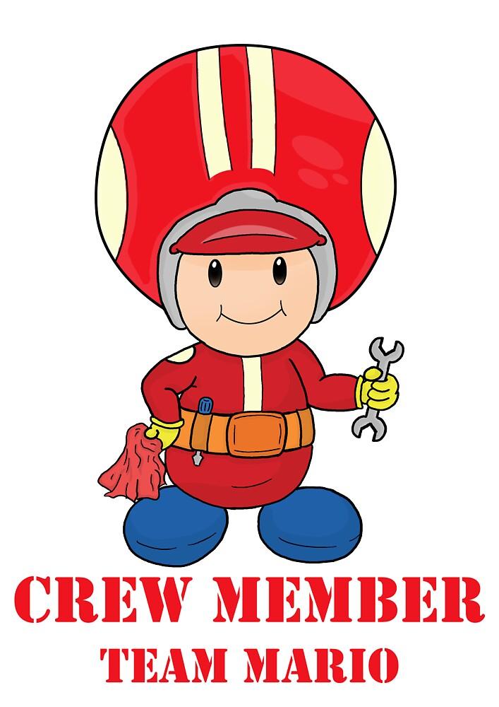 Team Mario Crewmember by vdBurg