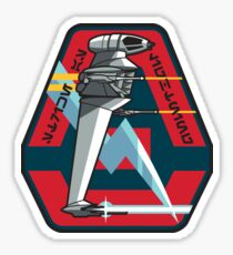 B-WING SQUADRON PATCH Sticker