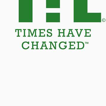 THC Logo Tee by timeshavechange