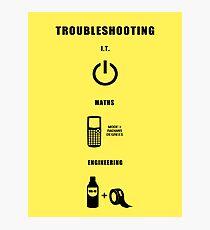 Troubleshooting Photographic Print