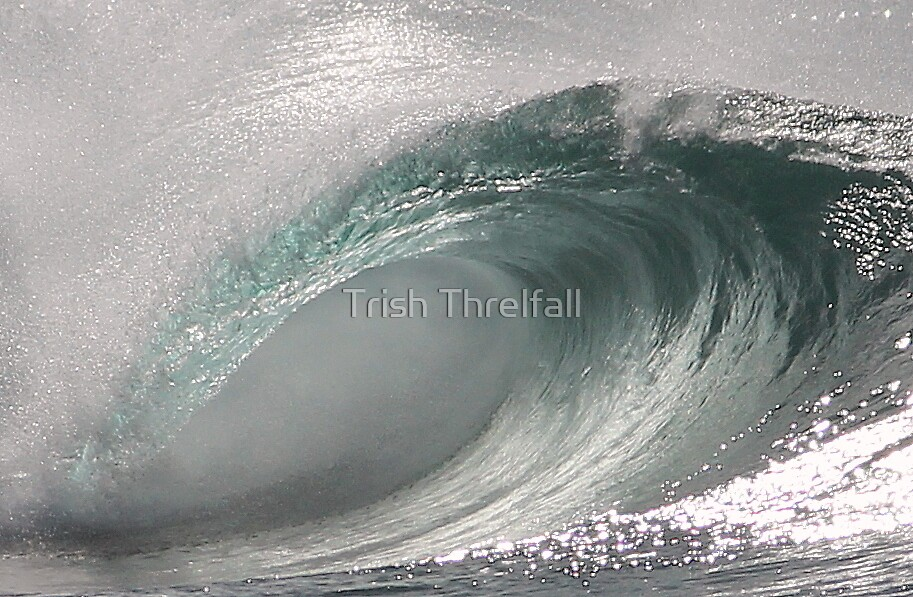 Just a wave  by Trish Threlfall