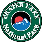 CRATER LAKE NATIONAL PARK OREGON MOUNTAINS HIKING CAMPING HIKE CAMP BOATING FISHING by MyHandmadeSigns