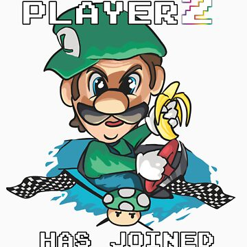 Player 2 by SpaceJazz