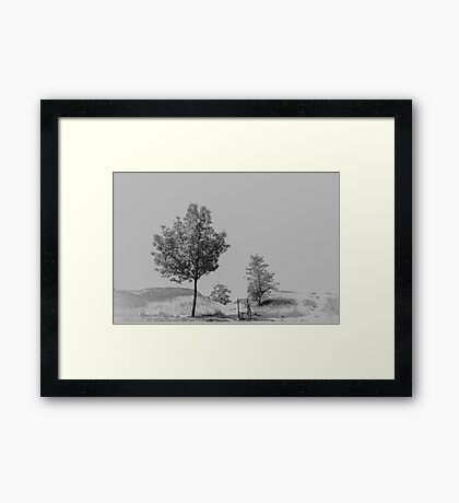 Bicycle Zen Framed Print