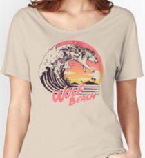 Wolf Beach Women's Relaxed Fit T-Shirt